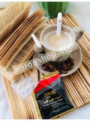 کافه لاته با قارچ گانودرما