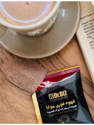کافه موکا،موکا دکتر بیز، کافه موکا با قارچ گانودرما، موکا دکتر بیز با قارچ گانودرما و شکلات، قهوه های دکتر بیز